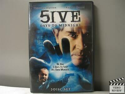 5ive Days to Midnight (DVD, 2004, 2-Disc Set)