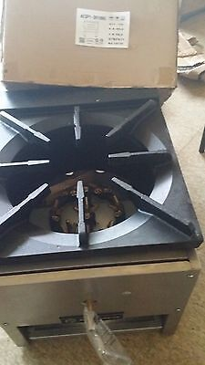 """ACE Heavy Duty 3 Ring Stock Pot Stove Natural Gas 18"""" H AESP1-3R18NG"""