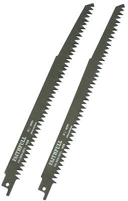 FAITHFULL S1531L RECIPROCATING RECIPRO (SABRE) SAW BLADES  FOR WOOD - Pack of 2