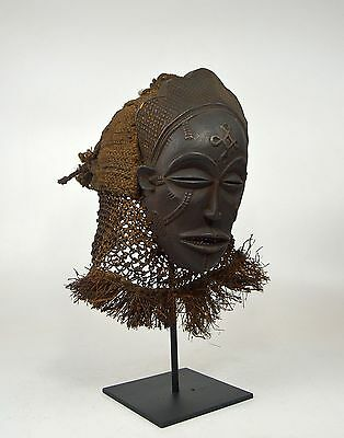 A Very Fine Old Chokwe Pwo Mask , African mask, African Art