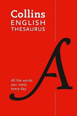 Collins Paperback English Thesaurus [7th Edition] by Dictionaries Collins - NEW