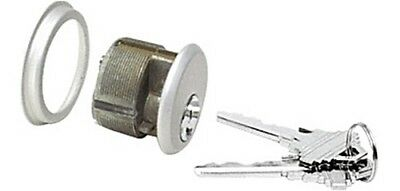 """Aluminum Single Mortise Cylinder With Schlage """"C"""" Keyway and Keyed Different"""