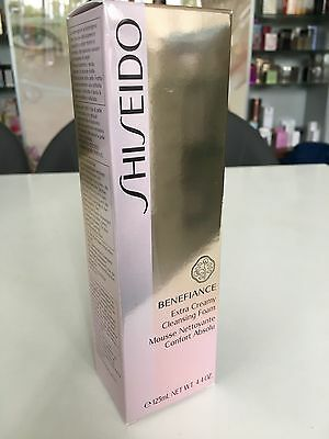 SHISEIDO Benefiance Extra Creamy Cleansing Foam 125 ml OVP