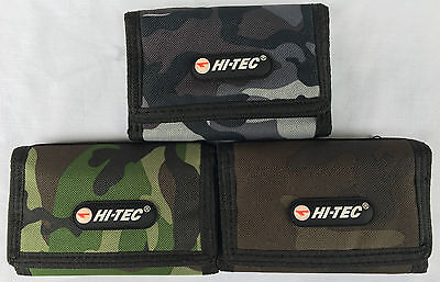 Hi-Tec Mens Boys Combo Trifold Sport Style Coins Wallet Credit Card Holder Purse