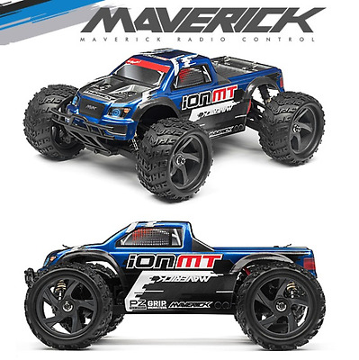 Maverick MV12809 Ion MT Monster Truck 4WD 2.4GHz Electric RTR 1:18 Scale