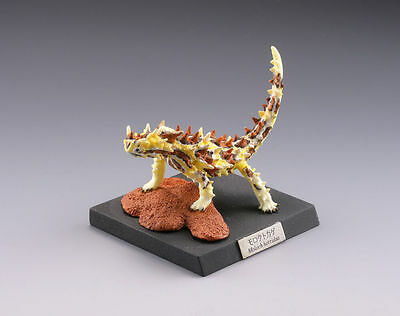 Kaiyodo Capsule Q Museum Reptiles Lounge Thorny dragon model Figure