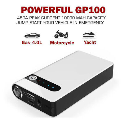 12V 20000mAh Portable Car Jump Starter Battery Charger Booster Power Bank SOS