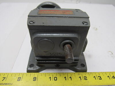 Boston Gear TWF109-100 DM5 Worm Gear Box Drive Speed Reducer 100:1 Ratio .050HP