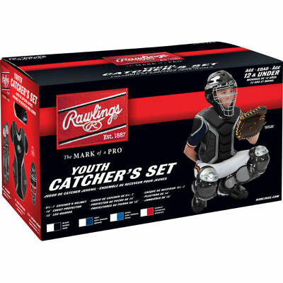 Rawlings RCSY-B/SIL Catcher's Sets - Ages