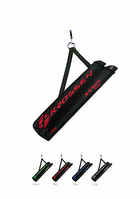 Krossen Archery 2 Tube Xenia Right Left Hand Arrow Quiver Red Grey Green Blue