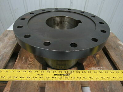 "Lovejoy Size 55 Farr Coupling Exposed Bolt 5.5"" Bore 16.5"" OD 6-1/4"" Thick"