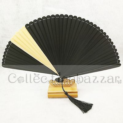 South Korean Style Mix-Color  Mini Bamboo Folding HAND FAN for Gift