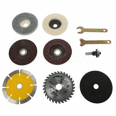 10pcs Cutting Grinding Polished Saw Blade Disc Wheel Angle Grinder Rotary Tool