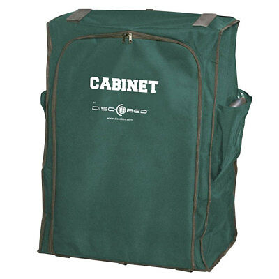 Disc-O-Bed Cam-O-Bunk 3 Shelf 6 Compartment Hanging Zippered Cabinet, Green