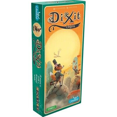 Dixit 4 Origins Expansion Board Game