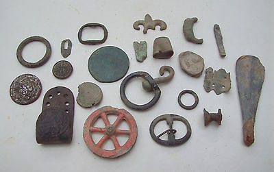 Dug Lot Metal Detecting Finds Medieval And Later