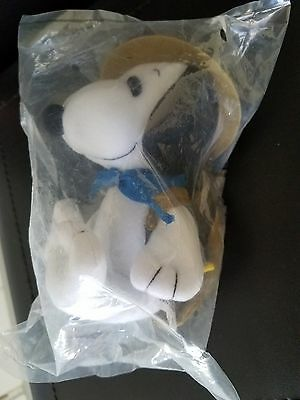 MetLife Snoopy Plush Beagle Scout, Peanuts United Feature, #4425, Woodstock Zip