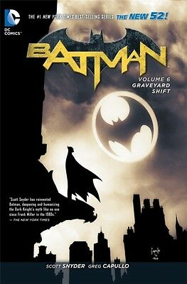 Batman TP Vol 6 Graveyard Shift (The New 52) (Paperback), Capullo. 9781401257538