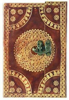 Leather Embossed Book of Shadows, Journal, Diary!