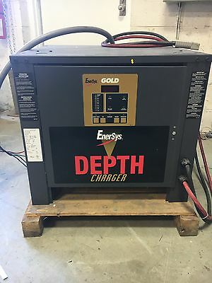 Enersys Gold Depth Charger D3G-18-850 AH:850 208/240/480V 29/25/13A, 18 Cells
