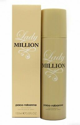 Paco Rabanne Lady Million Deodorant Spray - Women's For Her. New. Free Shipping