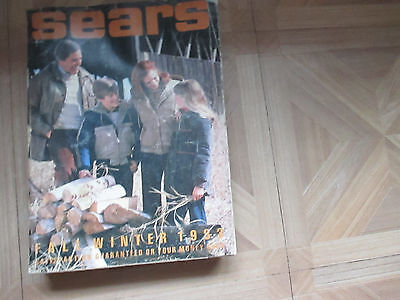 Vintage SEARS Annual Catalog 1983 Fall/Winter Fashion Home Decor 1519 pages