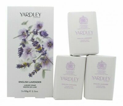 Yardley English Lavender Soap - Women's For Her. New. Free Shipping