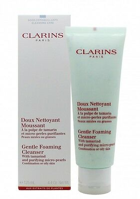 Clarins Cleansers And Toners Gentle Foaming Cleanser With Tamarin. New