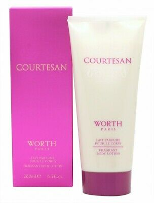 Worth Courtesan Body Lotion - Women's For Her. New. Free Shipping