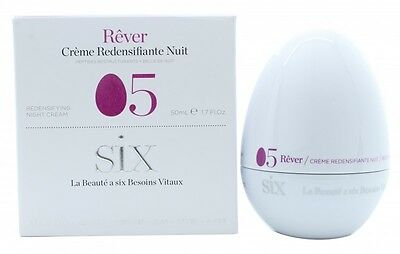 Six Cosmetics Rêver 05 Redensifying Night Cream - Women's For Her. New