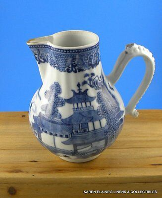 Canton Chinese Export Small Porcelain Pitcher