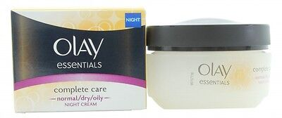 Olay Complete Care Night Cream - Women's For Her. New. Free Shipping
