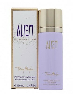 Thierry Mugler Alien Radiant Deodorant Spray - Women's For Her. New