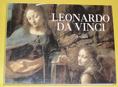 The Art of Leonardo Da Vinci 2002 First Edition Thick Art Book Nice See