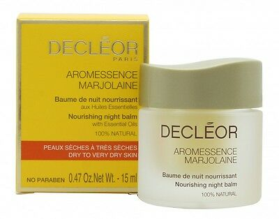 Decleor Aromessence Marjolaine Nourishing Night Balm - Women's For Her. New