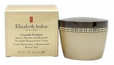 Elizabeth Arden Ceramide Premiere Moisture And Renewal Overnight Cream. New