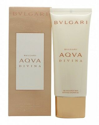 Bvlgari Aqva Divina Bath And Shower Gel - Women's For Her. New. Free Shipping