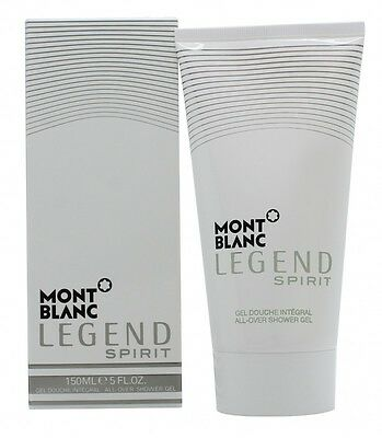 Mont Blanc Legend Spirit All-Over Shower Gel - Men's For Him. New
