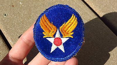 WW2 US Army Air Corps Forces Patch USAAF AAF Headquarters Patch SSI Cut Edge