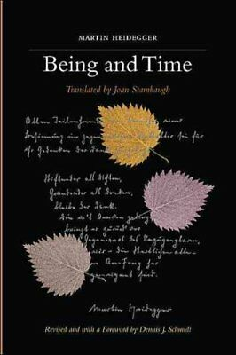 Being and Time A Revised Edition of the Stambaugh Translation 9781438432762