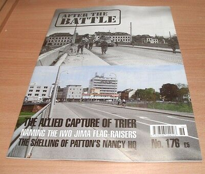 After the Battle magazine #176 2017 The Allied Capture of Trier, Iwo Jima Flag-R
