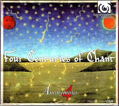 ANONYMOUS 4: FOUR CENTURIES OF CHANT English Lammas Ladymass Origin of Fire CD