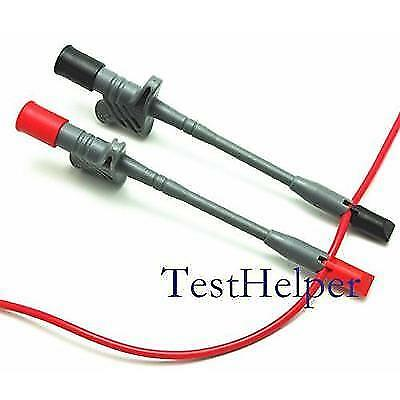 TestHelper Banana Socket Connection Wire Heavy Duty Insulation Piercing Probe
