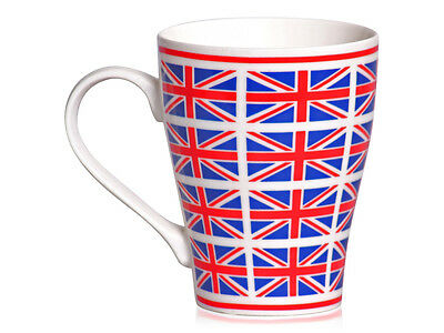 WHOLESALE 50 Cups, Union Jack Flag Design China Mug London Cup Gift JOB LOT