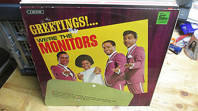 The Monitors ‎– Greetings!... We're The Monitors LP