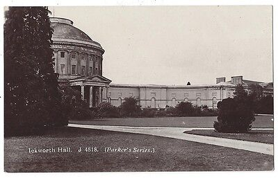 ICKWORTH HALL nr Bury St Edmunds, RP Postcard #4518 Unused, Parker's Series