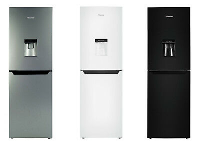Hisense RB320D4W1 Fridge Freezer - Choice of Black / White / Silver. From Argos
