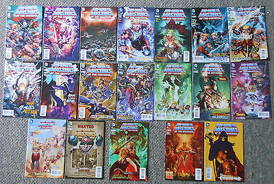 2013 HE-MAN AND THE MASTERS OF THE UNIVERSE volume 2 ~ FULL SET 1-16