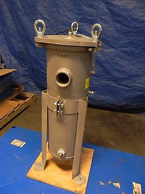 "Pentair Stainless Steel Bag Filter Housing 2"" FNPT GP8014S2"