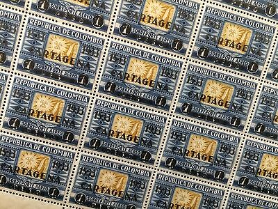 £££ Colombie Colombia SCADTA timbre airmail n° 120  - 1933 MNH** Cartagena